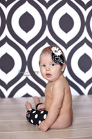 Black and White Geometric Pattern Backdrop for weddings - Item 1735