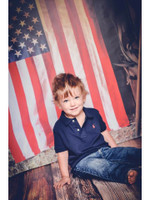 American Flag Photo Backdrop - Item 1885
