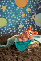 Kid's Outer Space Backdrop - Item 2090