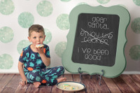Glitter Dot Backdrop - Mint Green Photo Background - Holiday Back Drop - Polka Dots - Exclusive Design - Item 2123