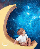 Star Backdrop for Photography - Outer Space Photo Background - Starry Night Sky - Item 1420
