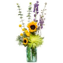 Sunflower N Blue