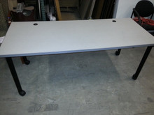 12 USED MOBILE TRAINING OR MULTI USE TABLES, 30DX72W