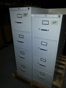 Used 4 and 5 Drawer Vertical File Cabinets