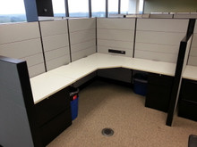 20 Used Teknion Leverage 50H 6x6 and 6x8 Cubicles