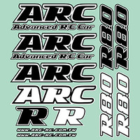 ARC R8.0 Decal