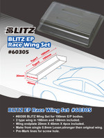 Blitz Wing Set for 190mm EP Body