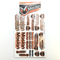 Maclan Racing Decal