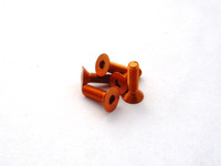 Hiro Seiko Alloy Hex Socket Flat Head Screw [Orange]