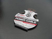 Hiro Seiko 13AWG Translucent Black Power Cable