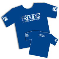 BLITZ Blue T-shirt (Size XL)
