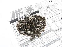 Hiro Seiko IF14 Titanium Hex Socket Screw Set