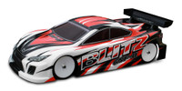 BLITZ GSF II 190MM TOURING CAR BODIES (0.5MM)