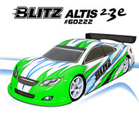 BLITZ ALTIS 2.3e 1/10 190mm Touring Car Bodyshell (0.7mm)