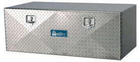Single Door Aluminum Tool Boxes | Smooth or Diamond Plate Doors