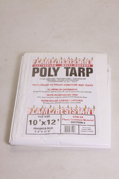 All-Season Flame Resistant Multi-Purpose Poly Tarp