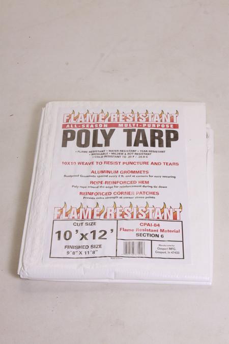 All-Season Flame Resistant Multi-Purpose Poly Tarp
