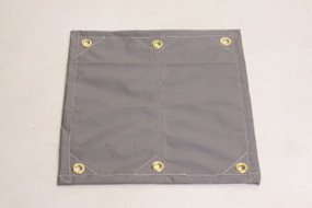 6 oz. - 14 x 14 weave, 16 mil (Black Yarn), Ultra-Strong Heavy-Duty Poly Tarp