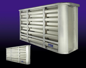 Aluminum Bulk-Head Limited Security Racks (LSR)
