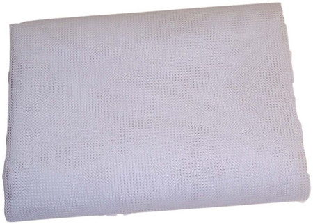 "White 1/4"" Polyester Super Heavy Duty Mesh Tarps (T-MN-)"