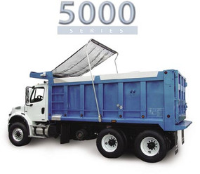 5000 Series ELUD, Complete Roll Tarp System for Dump Truck
