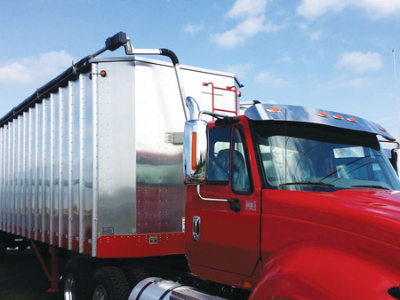 4500 Series HD Electric for Open-Top Vans, Chip and Refuse Trailers