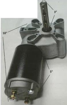 Direct-Drive Motor - 12V (20-61G/1802061)