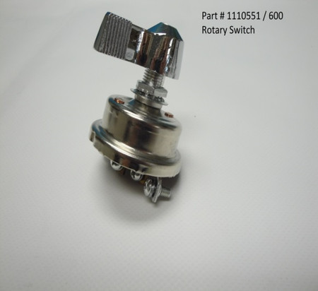 Heavy-Duty Rotary Switch (20-600/1110551)