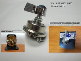 Heavy-Duty Rotary Switch (20-600/1110551)