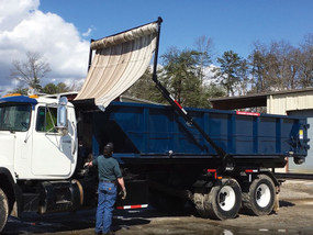 SWAT™ Automatic Waste Tarping System for Roll-Off Trucks (20-1809285)