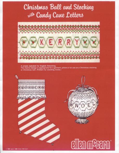 Christmas Ball & Stocking pattern by Ellen McCarn