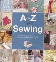 A-Z Sewing by Search Press