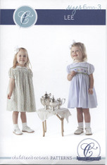 Lee #10 smocked and unsmocked dress pattern by Children's Corner