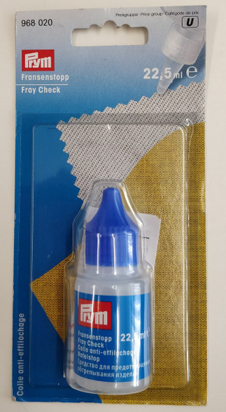 Fray Check by Prym for use on the edge of your fabric to stop it fraying whilst working on it