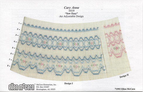 Cary Anne Smocking Plate by Ellen McCarn