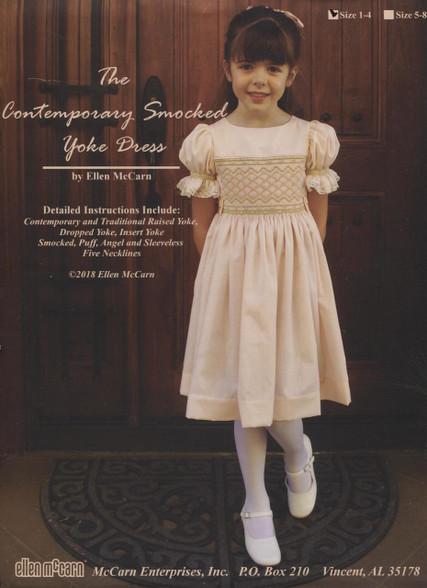 The Contemporary Smocked Yoke Dress by Ellen McCarn size 1-4