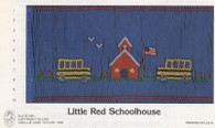 Little Red Schoolhouse smocking plate by Mollie Jane Taylor