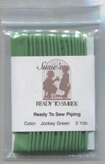 Susie's Ready to Sew piping in Jockey Green - colour match Anchor 227