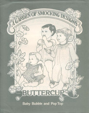 Buttercup Bubble by A Garden of Smocking