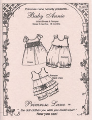 Baby Annie 3-18 month Infant Dress and Romper by Primrose Lane