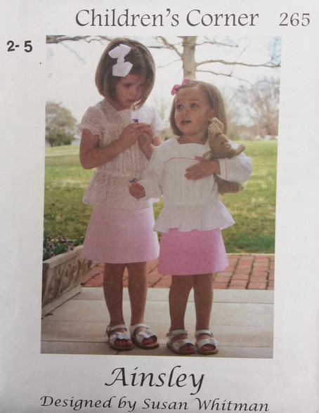 Ainsley Sewing Pattern By Children's Corner
