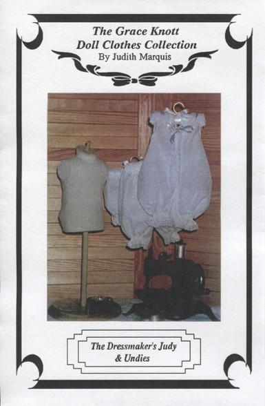 Dressmaker's Doll Judy and Underwear pattern by Judith Marquis