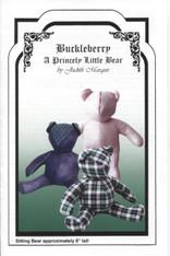Buckleberry Smocked Teddy Bear Pattern by Judith Marquis