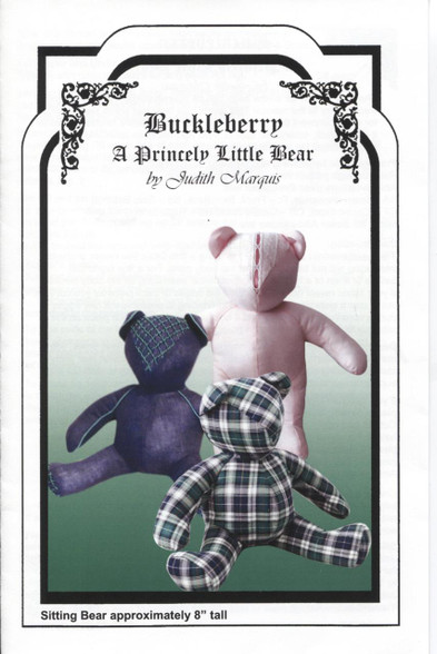 Buckleberry Smocked Teddy Bear Pattern by Judith Marquis