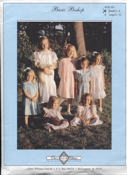 Basic Bishop Smocking Pattern by Chery Williams Dots and smocking design not included
