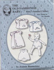 Baby's Summer Clothes by The Old Fashioned Baby
