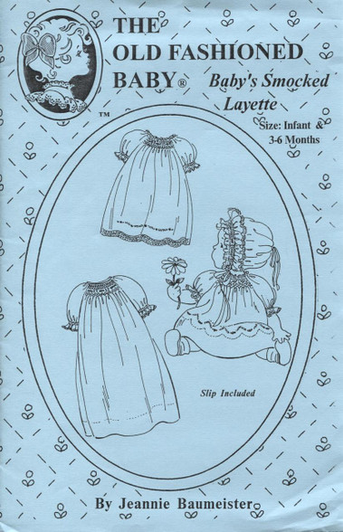 Baby's Smocked Layette by The Old Fashioned Baby
