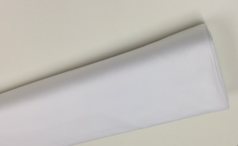 100% Pima Cotton Doe Skin Twill in white 150 cm wide