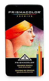 Prismacolor Premier Soft Core Colored Pencils 12 Set