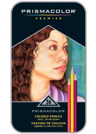 Prismacolor Premier Soft Core Colored Pencils 36 Set